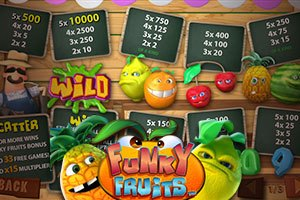Enjoy Incredible Prizes in Funky Fruits Slot